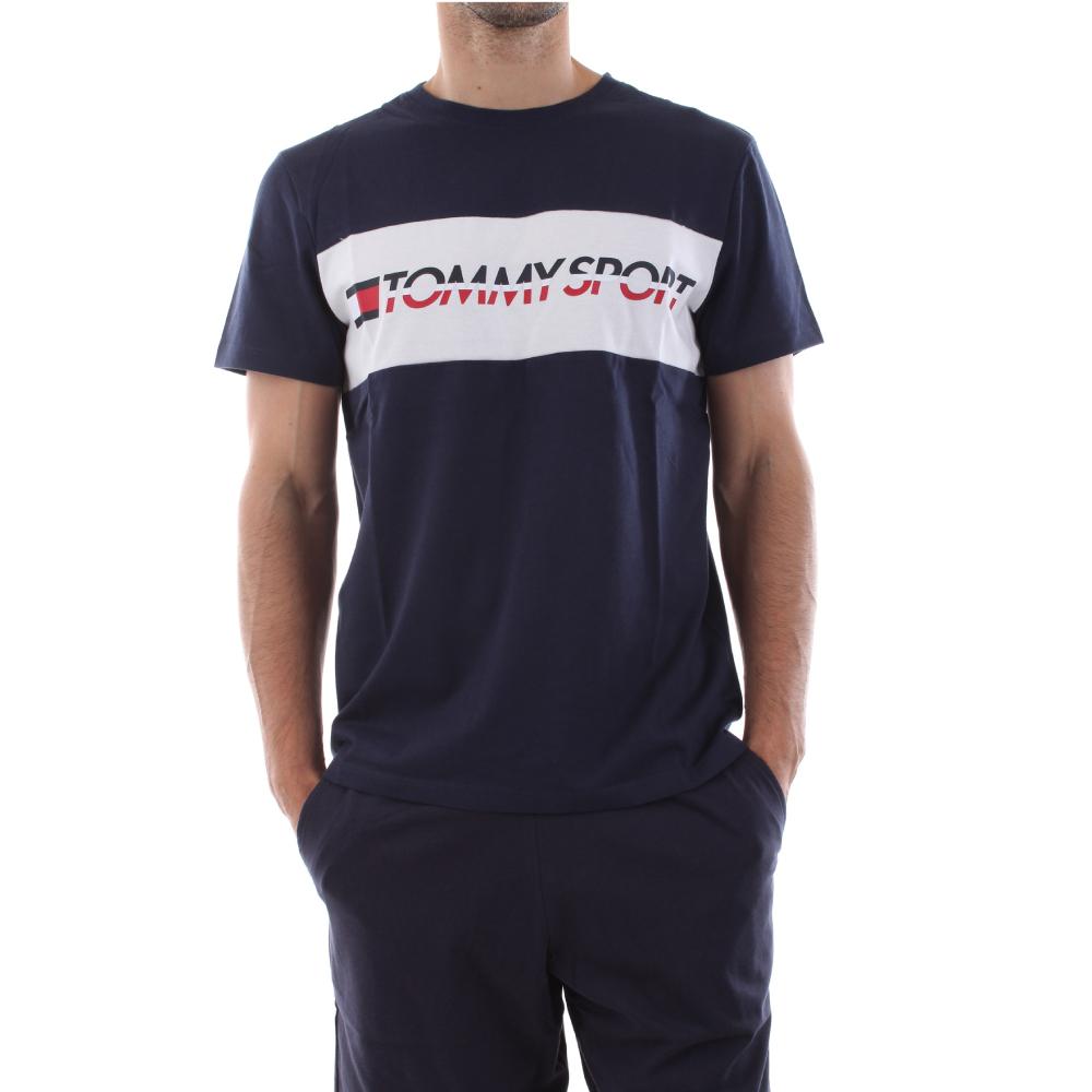 Tommy Sport pánské tmavě modré tričko