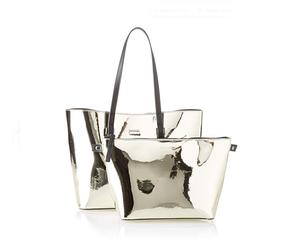 Calvin Klein dámská zlatá metalická kabelka 2v1 cdc0425adc
