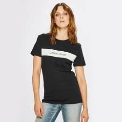 2f3241a697 Calvin Klein dámské černé tričko Vinyl