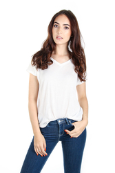 9a435df628 Pepe Jeans dámské smetanové tričko Mabel