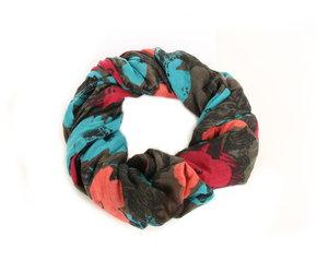 0f122b7e05f Pepe Jeans dámský šátek - tunel se vzorem od Andy Warhol