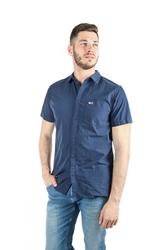 21f271327 Tommy Hilfiger pánská tmavě modrá košile Solid