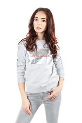 377cdcc07c54 Calvin Klein dámská šedá mikina Metallic ve vel. XL