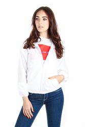 887073ef9a Calvin Klein dámská bílá bunda Windbreaker