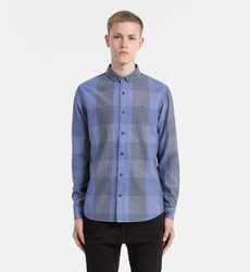dd90471b13f Calvin Klein pánská modrá košile Wilken