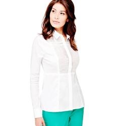 Guess dámská bílá košile s krajkou 461327ac21