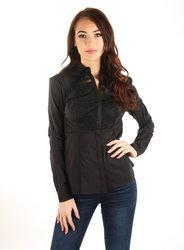 Guess dámská černá košile s krajkou 5da8d2685f