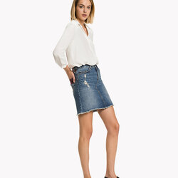 19e9ba594ec Tommy Hilfiger dámská džínová sukně Bella