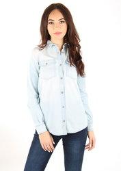 Tommy Hilfiger dámská světle modrá džínová košile 7049fa359f