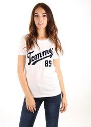 Tommy Hilfiger dámské bílé tričko Tommy 5e8f40eb4b