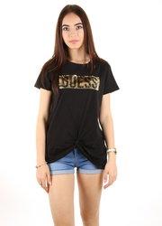fd8f64ad2037 Guess dámské černé tričko s flitry