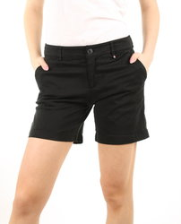 Tommy Hilfiger dámské černé šortky Essential f42308b59c
