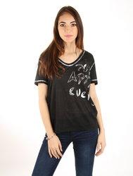 6931c3a5c06 Pepe Jeans dámské černé tričko Patti
