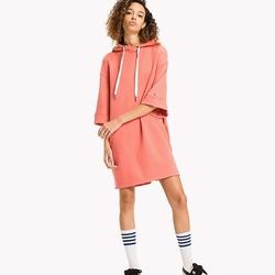 Tommy Hilfiger dámské mikinové korálové šaty Garment 0275b8f8441