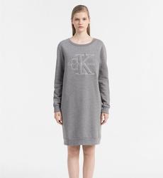 Calvin Klein dámské šedé šaty Dalis 58f5143cb8f