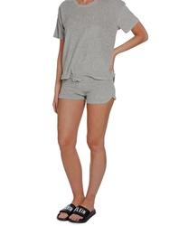 f3e96de5c84 Calvin Klein dámské šedé šortky Terry