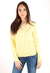 d0acdabb496 Tommy Hilfiger dámský žlutý svetr Ivy