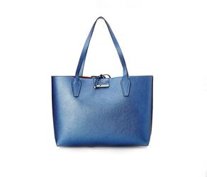 Guess dámská oboustranná modro - hnědá kabelka 2 v 1 f79c9852f9c