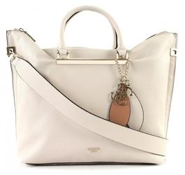 Novinka. Guess dámská velká kabelka Lou v barvě bílé kávy 30aef10aa31