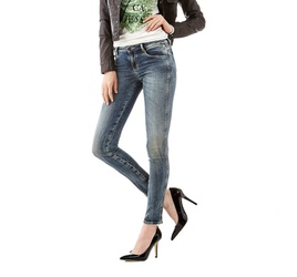 Guess dámské modré džíny 6458bd330f