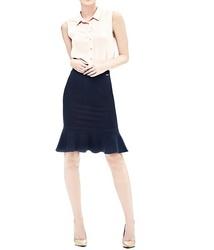 1f3129b4af7 Guess dámská tmavě modrá sukně