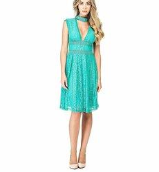 Guess dámské zelené šaty Katherine af95f182ca6