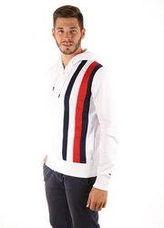 Tommy Hilfiger pánská bílá mikina Sporty 03a6b66840a