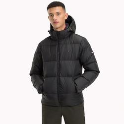 0ed5721d93b Tommy Hilfiger pánská černá péřová bunda Essential