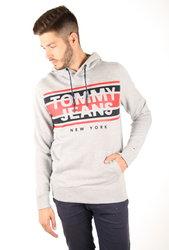 Tommy Hilfiger pánská šedá mikina Essential 2d2875b1b2