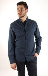 2e2b4fbd207 Tommy Hilfiger pánská tmavě modrá košile