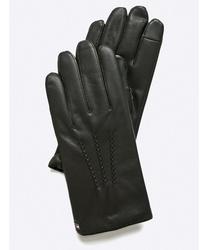 f2c96d36fd7 Tommy Hilfiger pánské černé kožené rukavice