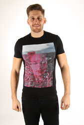 Guess pánské černé tričko vel. 1a844f7c7f