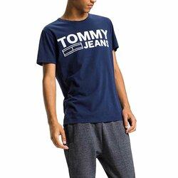Novinka. Tommy Hilfiger pánské modré tričko Basic 69ef8fbf093