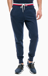 08930f1112 Tommy Hilfiger pánské tmavě modré tepláky Relaxed
