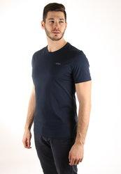Guess pánské tmavě modré tričko Pima cbc20f2125