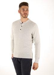 2e339b15cfc Tommy Hilfiger pánský šedý svetr