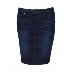 e4315961d9 Tommy Hilfiger dámská tmavě modrá sukně Knit