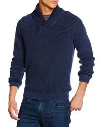 Tommy Hilfiger pánský modrý svetr Baxter 0895a9b1f2