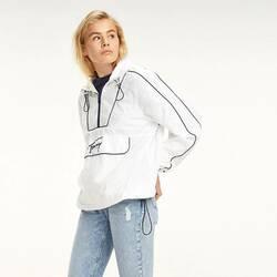 fb7ff96609a1 Tommy Hilfiger dámská bílá bunda s klokaní kapsou