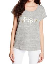 Tommy Hilfiger dámské šedé tričko Ashleigh 3e4d8e7a1e