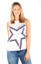 Tommy Hilfiger dámské bílé tričko Star dc2725ff34