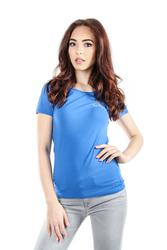 411b6f2d5fa9 Tommy Hilfiger dámské modré tričko Diamante