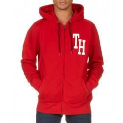 d62fa0c335 Tommy Hilfiger pánská červená mikina na zip