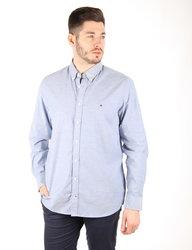 Tommy Hilfiger pánská modrá košile Stretch Oxford 5bc146483d