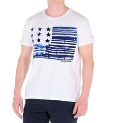 cdaaf6d43a Tommy Hilfiger pánské bílé tričko s potiskem