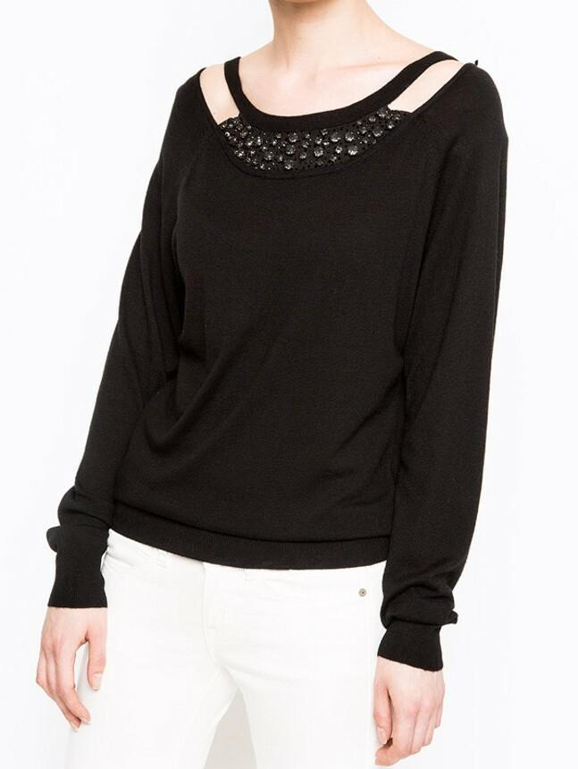 Guess dámský černý svetřík