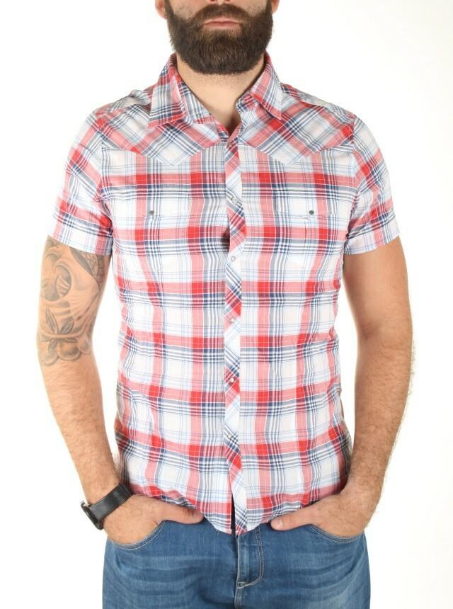 Guess pánská kostkovaná košile