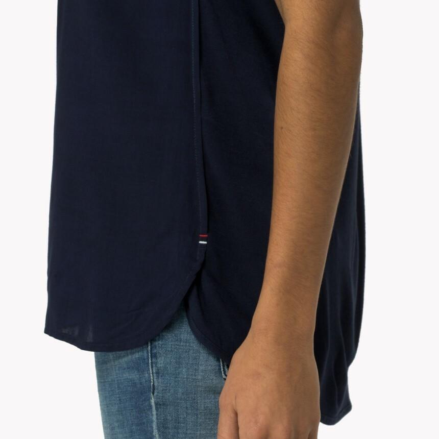 Tommy Hilfiger dámské modré triko Mixing - Mode.cz cd000ff47d