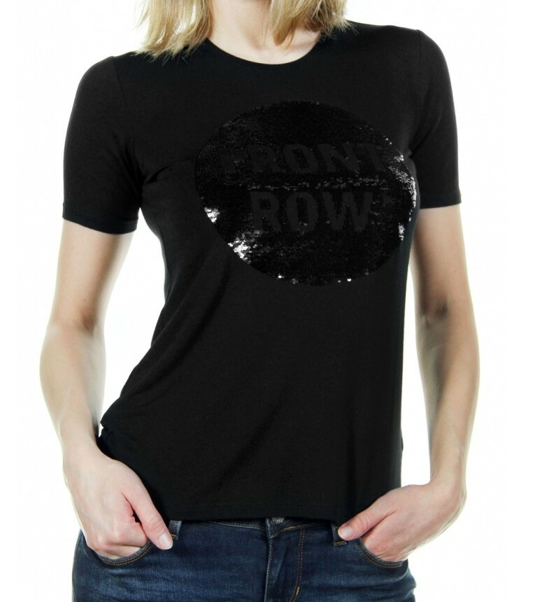29af99404b Guess dámské černé tričko - Mode.cz