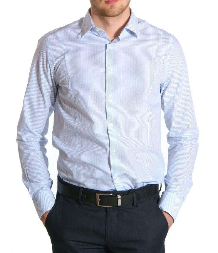Guess pánská pruhovaná košile
